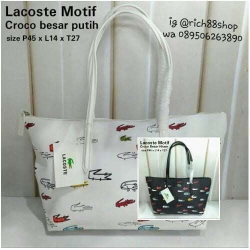 Tas Lacoste Totte Mini Motif L - Daftar Harga Terlengkap Indonesia cc9eb3ad03