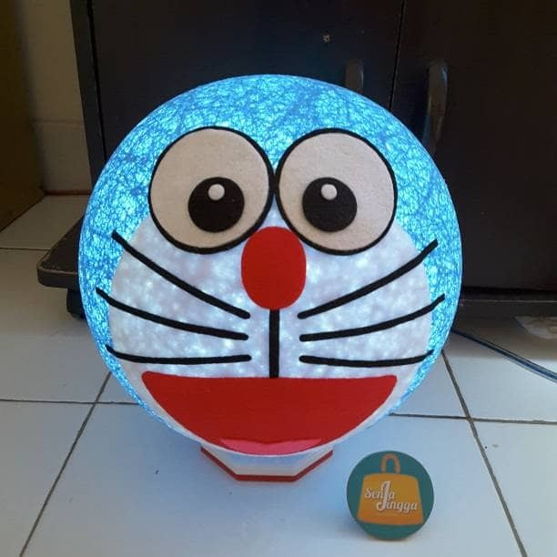 harga Lampion benang dora emon lampu tdur karakter doraemon kado souvenir Tokopedia.com