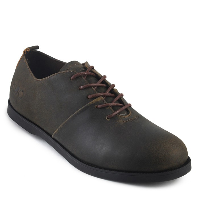 Foto Produk sepatu pria sauqi footwear vegas olive coklat doff kulit sapi asli dari Sepatu Bandung Shop