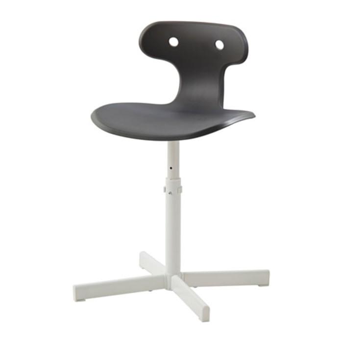 Ikea molte kursi meja belajar - desk chair kuning / abu2