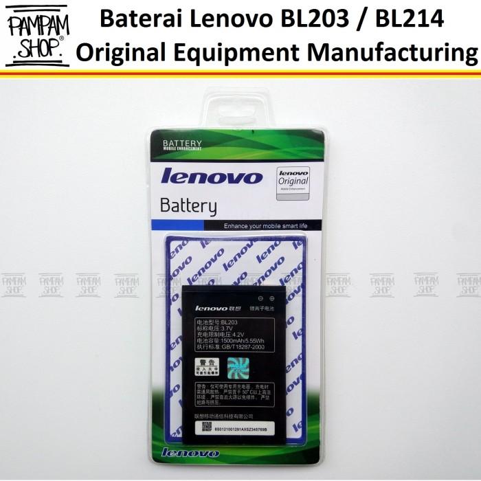 harga Baterai handphone lenovo a316i bl214 original   bl 214 batre a 316i Tokopedia.com