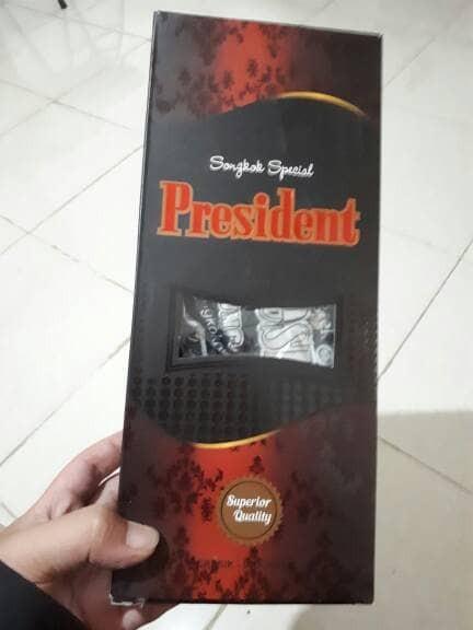 Peci / Songkok Special President Hitam Polos Ukuran 10