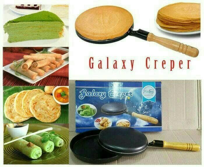 harga Galaxy creper - untuk membuat kulit dadar gulung lumpia risol Tokopedia.com