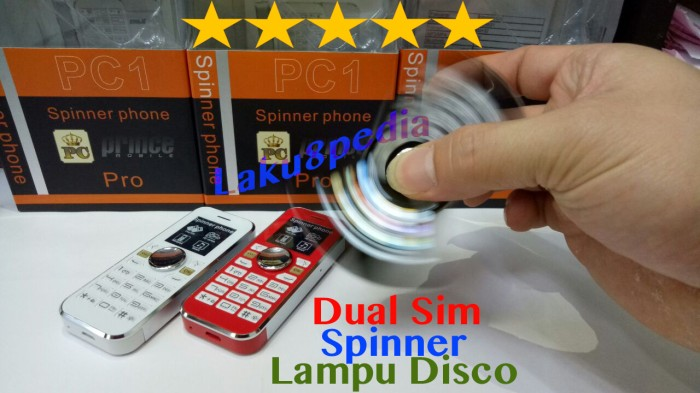 harga Spinner prince pc1 pro dual sim radio Tokopedia.com