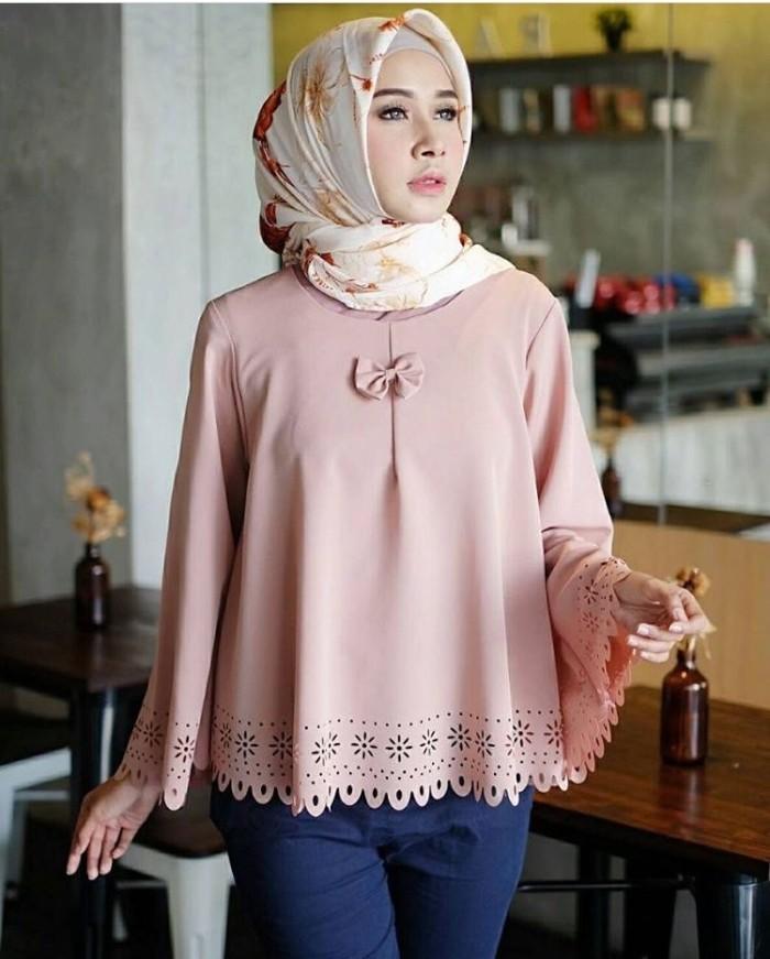Baju Atasan Blus Wanita Muslim - Faira Blouse