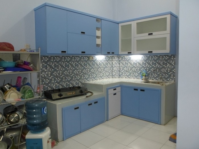 Jual Kitchen Set L Shape 3 Meter Harga Per Set Cv Kembangdjati