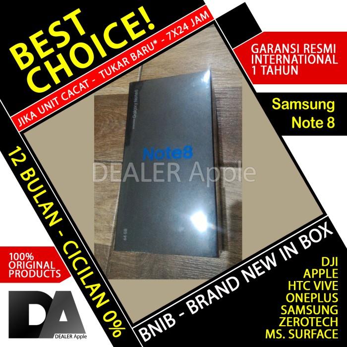 Samsung Galaxy Note 8 64GB BLACK BNIB Garansi Resmi International 1 TH