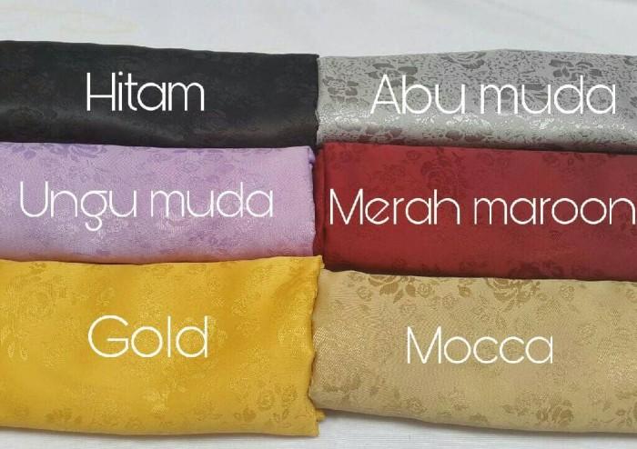 Foto Produk Kerudung | Jilbab Jacquard | Jaguar Silk Segiempat - Hitam dari Tokian