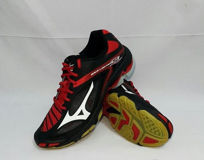 Jual Sepatu Volly Mizuno Wave Lightning Z3 - Black White Chinese Red ... cd36d3aa87