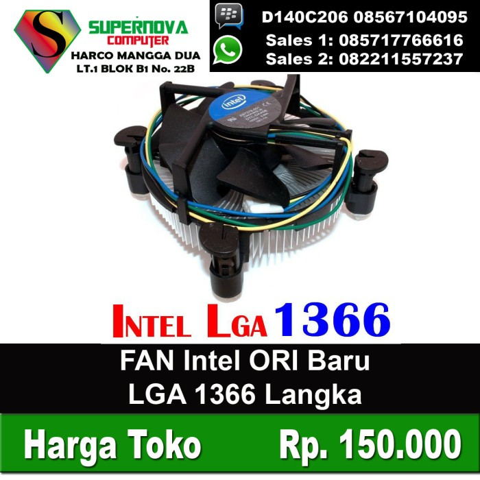 harga Fan processor lga 1366 ori langka Tokopedia.com