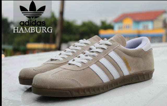 Foto Produk Sepatu Adidas Hamburg Cream dari Pusat Sepatu Baju Murah