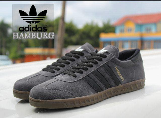 Foto Produk Sepatu Adidas Hamburg Abu dari Pusat Sepatu Baju Murah