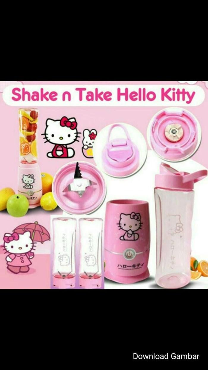 Jual SHAKE N TAKE HELLO KITTY 2 CUPS GELAS JUICER HELLO KITTY BLEND N GO Jakarta Pusat Benkacheap