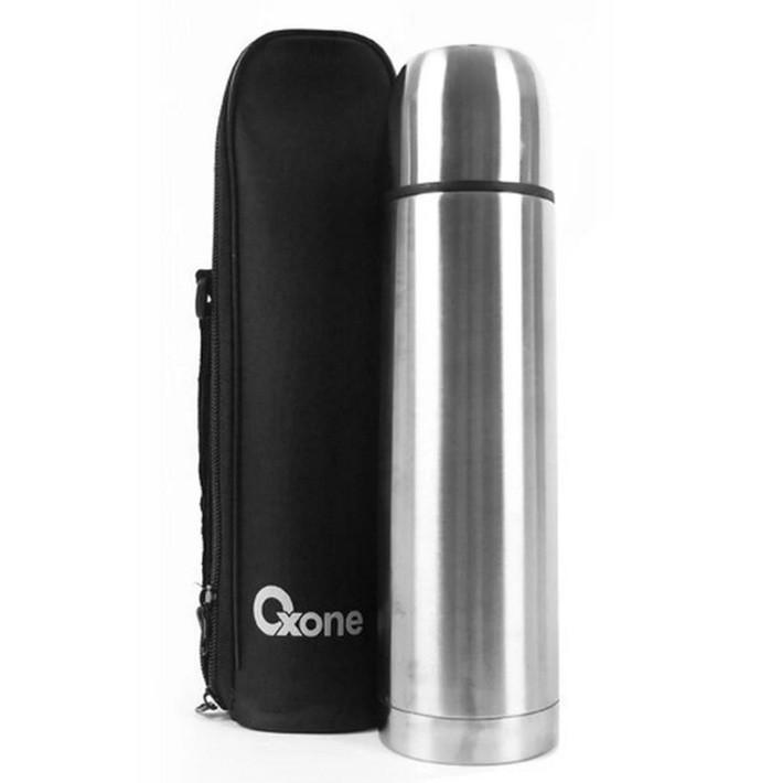 harga Oxone ox-1.0 vacuum flask 1000 ml - termos air panas dingin 1 lt