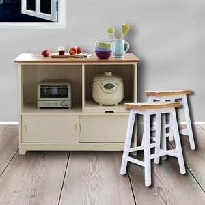 Jual The Olive House - Meja Makan + Kursi Serba Guna Ireland Wagon Oak - The Olive House - OS | Tokopedia