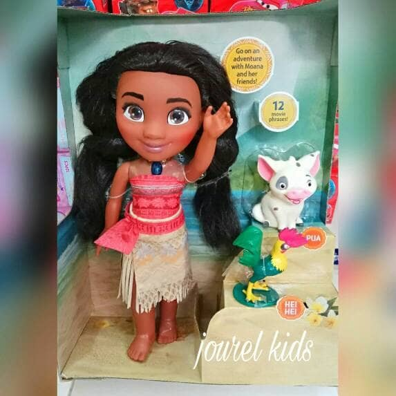 Jual mainan anak perempuan boneka disney princess moana rapunzel ... 9ed0a4e293