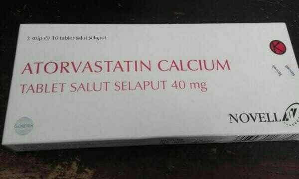harga Atorvastatin 40 mg novell/lipitor 40 mg generik/isi 30 Tokopedia.com