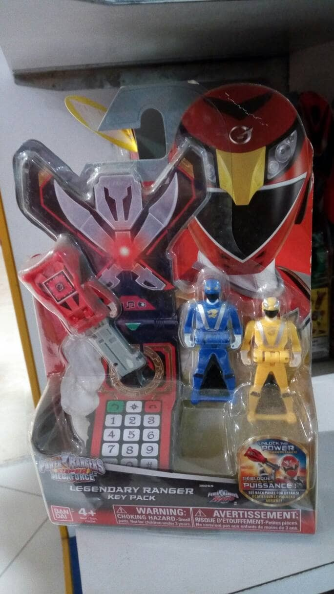 Jual Power Ranger Key Isi 3 Kota Depok Aisyah DIECAST