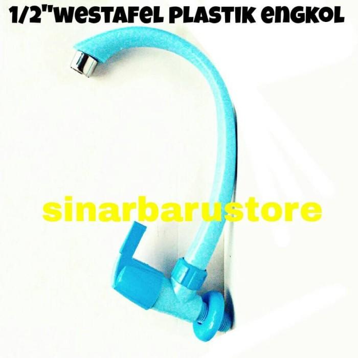harga Keran/kran air wastafel/cuci piring plastik murah engkol cab 1/2 Tokopedia.com