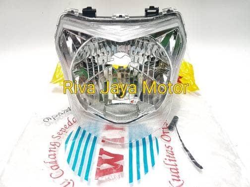 Reflektor lampu depan megapro new 2010 mega pro monoshock