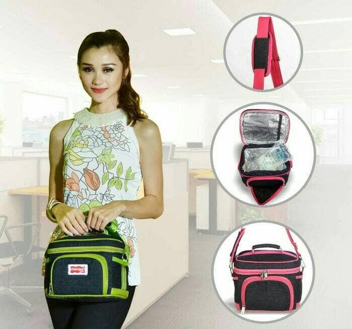 Cooler bag / tas penyimpanan asi dialogue dgt 7123