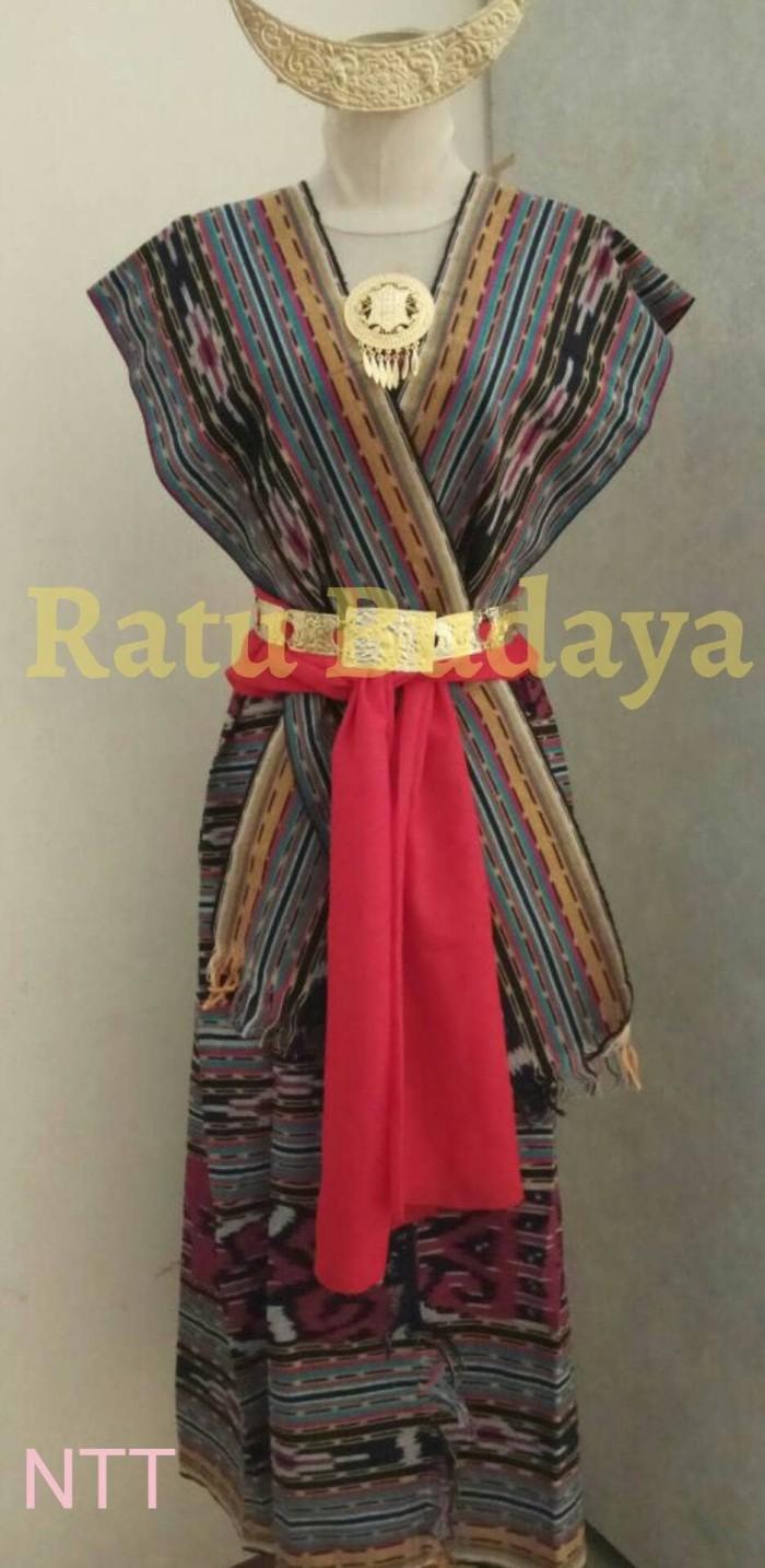 Jual Baju Adat Nusa Tenggara Timur Dewasa NTT Jakarta Barat Ratu Budaya