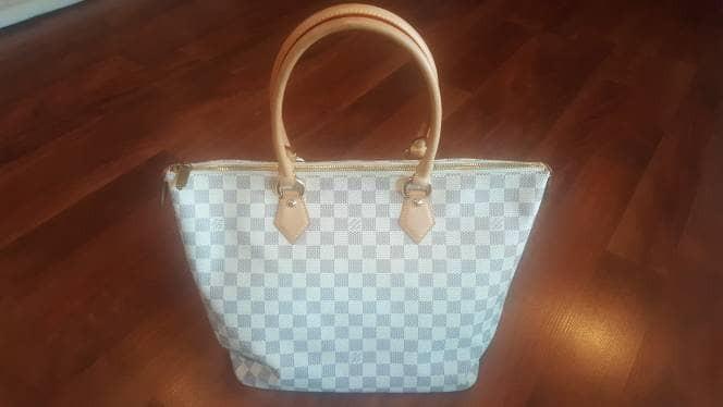 Foto Produk Authentic Louis Vuitton Damier Azur Saleya MM Tote Bag LV Preloved dari PIKOE NIKOE