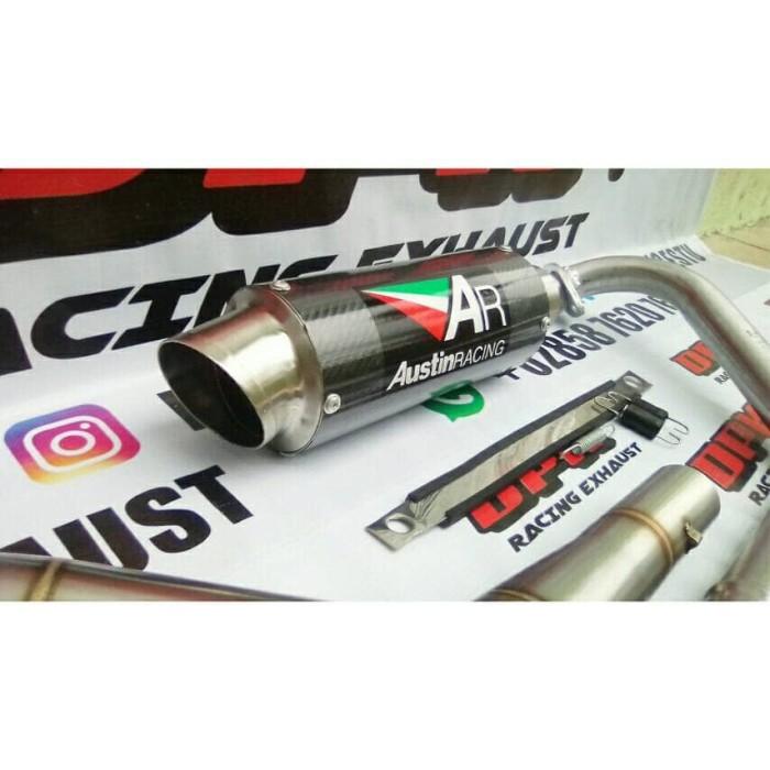 Jual KNALPOT AUSTIN RACING CARBON FULL SYSTEM YAMAHA R15 V3 - Kab   Purbalingga - dpk racing exhaust   Tokopedia