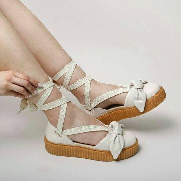 newest 46498 c109b Jual Nama : puma fenti x rihanna bow creeper sandal white - Jakarta Selatan  - tokopremium2 | Tokopedia
