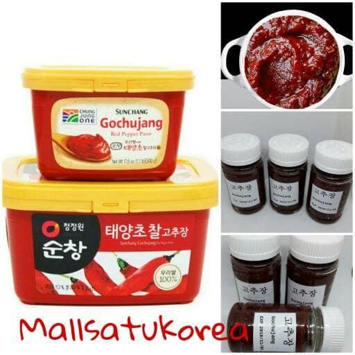 harga Gochujang / sambal pasta korea/ hot pepper paste- 150gr repacking Tokopedia.com