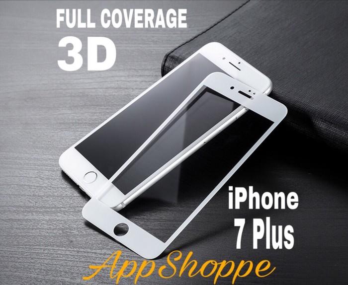 Foto Produk Apple iPhone 7 Plus Tempered Glass Screen Protector WHITE dari AppShoppe