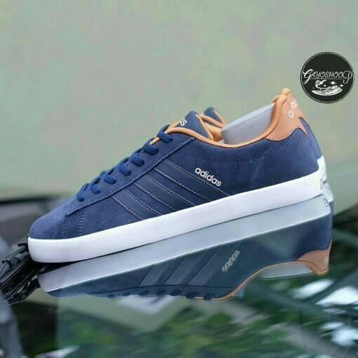 Jual Sepatu Adidas Neo Core Derby Navy Original - Navy faac564cae