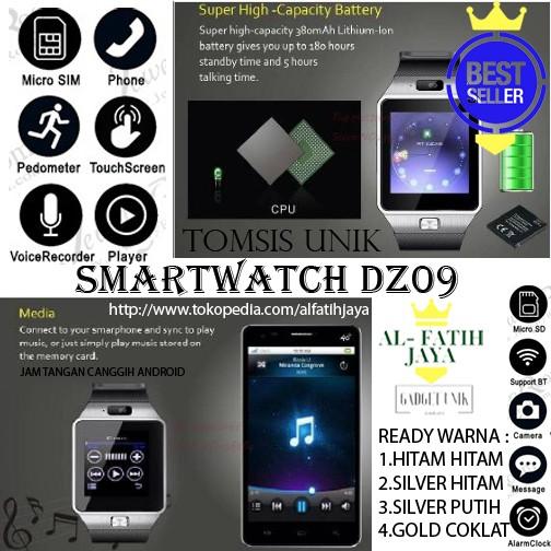 harga Jam tangan android dz09 u9 smart watch Tokopedia.com