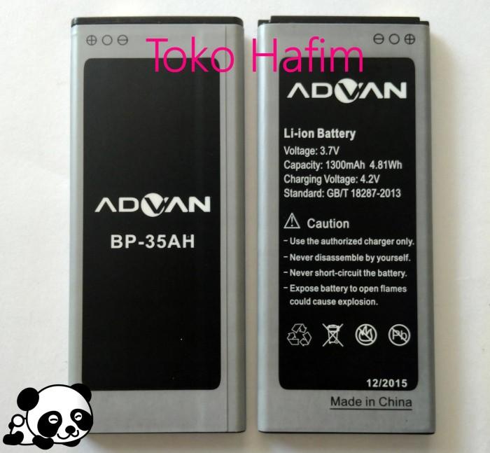 Batrai Baterai Battery Batre Advan I4D 4G LTE Original Advan 1300mah