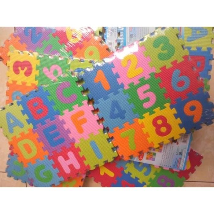 produk mainan anak anak kecil Matras Tikar Karpet Puzzle alas .