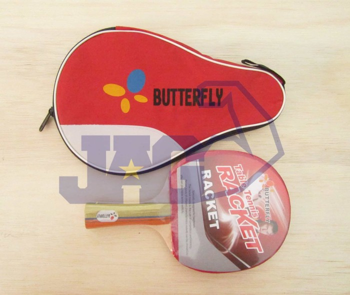 harga Bet / bat tenis meja pingpong butterfly + tas full cover Tokopedia.com