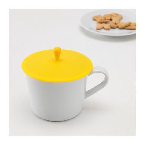 harga Ikea smulfare ~ penutup / tutup mug/ gelas silikon 12cm | lid for mug Tokopedia.com