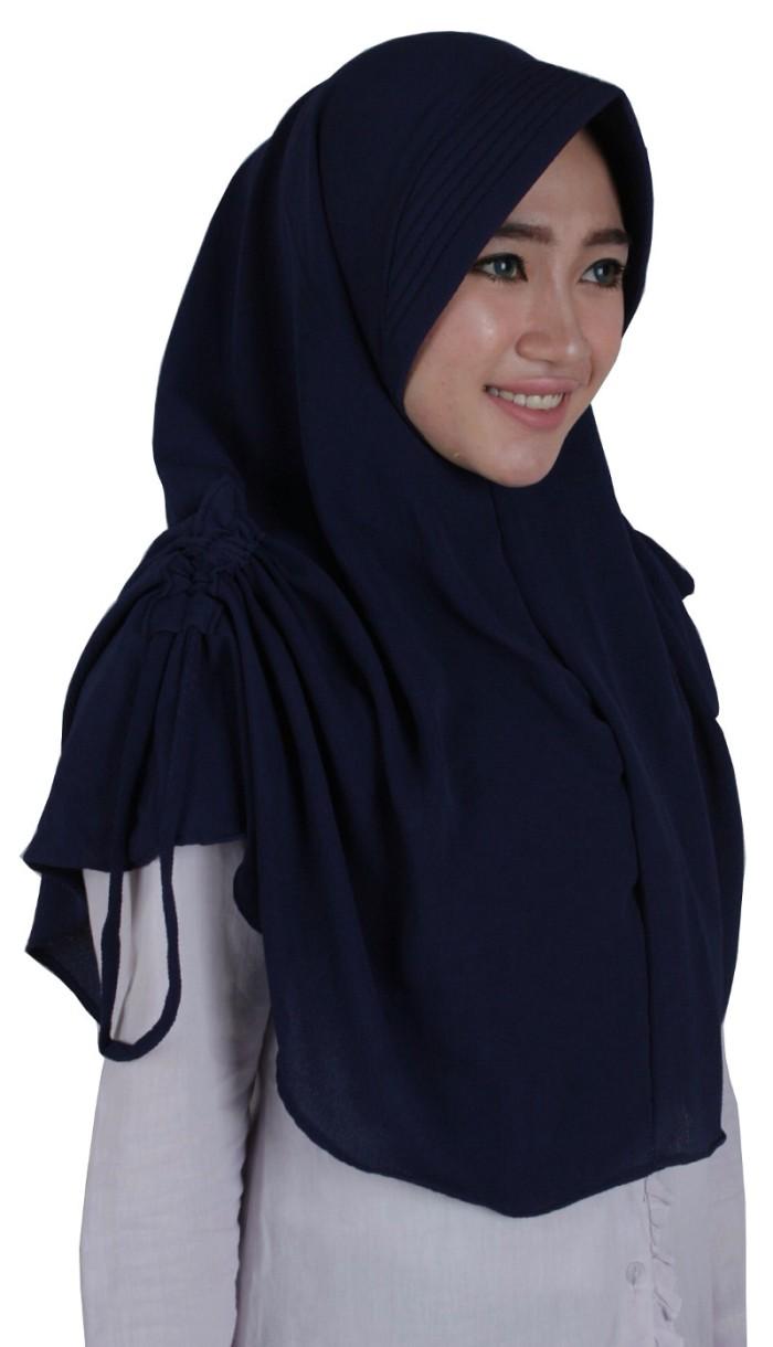 ZO Kerudung Hijab Instan Serut Lidya .