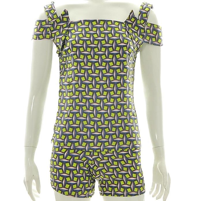 Foto Produk Setelan Wanita/Atasan Tanpa Lengan & Celana Pendek/Polyester/PETITE-XS dari Sweet Alison