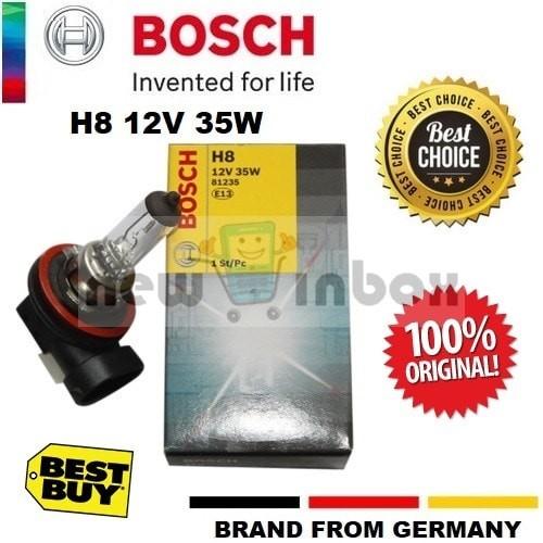 Jual Bohlam Lampu Depan Mobil Original Bosch Halogen H8