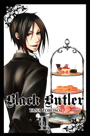 Komik Manga Anime Black Butler Kuroshitsuji English Vol 2