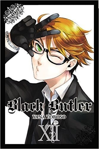 Komik Manga Anime Black Butler Kuroshitsuji English Vol 12