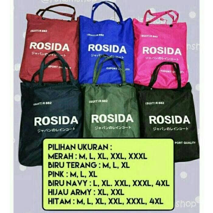 harga Jas hujan rosida sporty type r882 original (rosida r-882 sporty) Tokopedia.com