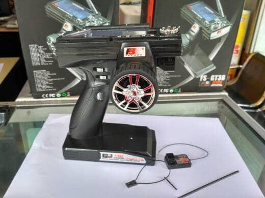 harga Fs-gt3b 2.4ghz 3ch Radio Remote Control Lcd Pemancar Dan Penerima Tokopedia.com