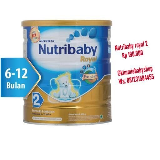 harga Nutribaby royal 2 800gr Tokopedia.com