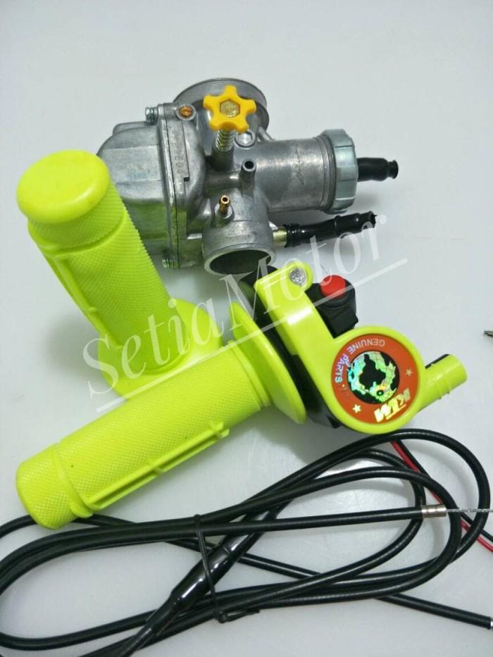 harga Karbu pe 28 - gaspontan ktm paket - karburator pe28 motor klx - matic Tokopedia.com