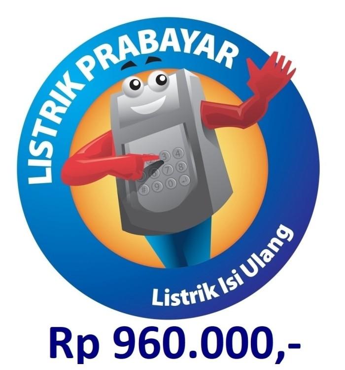 harga [termurah] token listrik pln prabayar 1.000.000 Tokopedia.com
