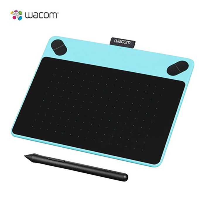 harga Tablet wacom intuos art pt small blue- 4x6 /corel painter essential Tokopedia.com