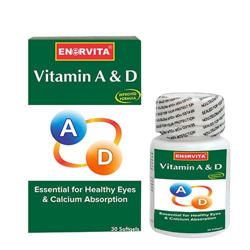 harga Vitamin tulang dan mata/enervita/ vit a & d  30 softgel Tokopedia.com