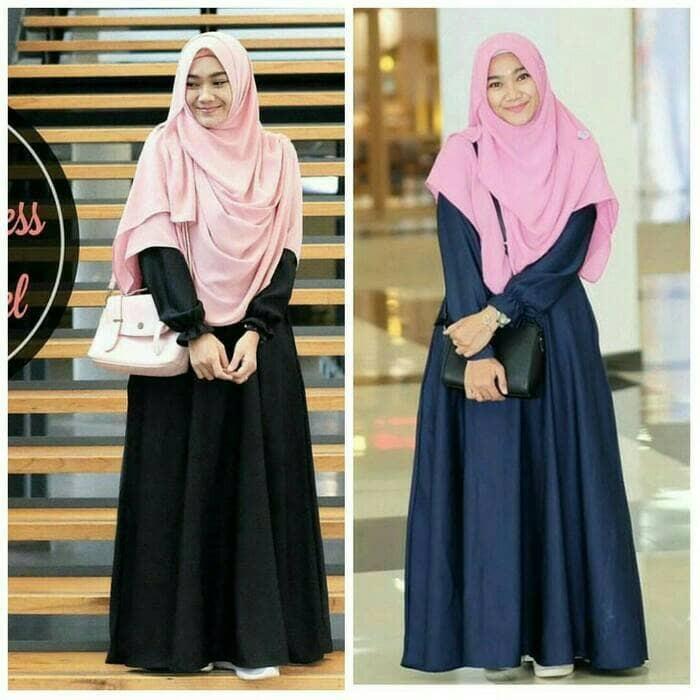 Baju Atasan Wanita / Baju Muslim Perempuan / Belva Dres / Gamis Syar'i